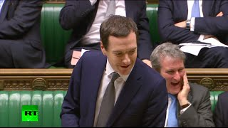 Osborne asked on corporate tax avoidance, uses RT to attack Labour