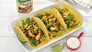 Tacos cu pui si porumb | JamilaCuisine
