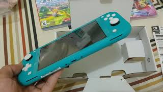 NINTENDO SWITCH LITE INDONESIA TURQUOISE COLOR EDITION
