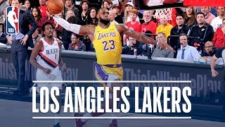 Best of the Los Angeles Lakers! | 2018-19 NBA Season