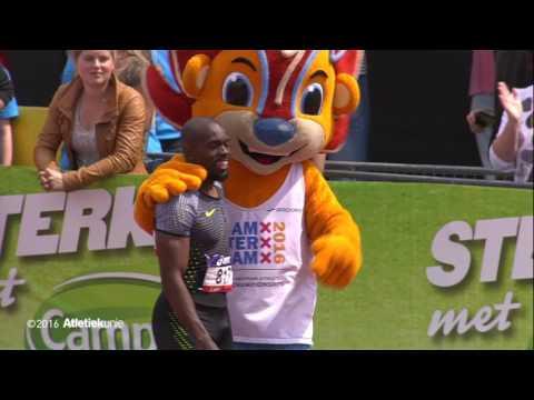 ASICS NK Atletiek 2016 Mannen 200 m finale