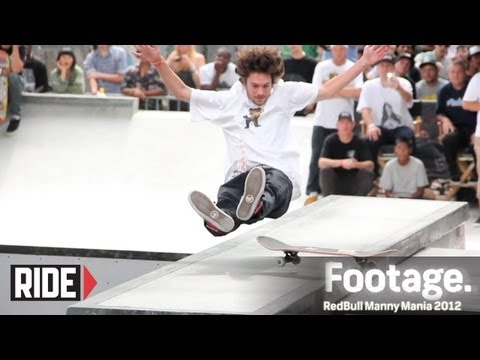 Austyn Gillette, Torey Pudwill, Brandon Biebel, and More! - RedBull Manny Mania 2012