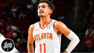 Trae Young 'reminds me of Steph Curry' -Tracy McGrady | The Jump