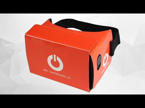 Webtekno VR Cardboard Gözlük Yapımı Ve İncelemesi - ( Fiyat: 19,90₺)