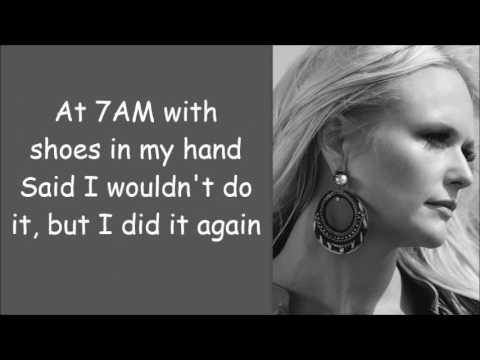 Miranda Lambert ~ Vice (Lyrics)