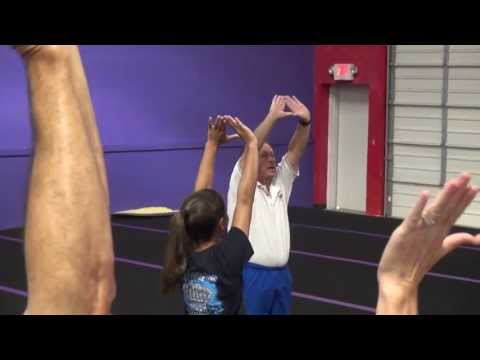 Mark Goodson Tumbling Expert gives tumbling handspring tips PART 2 ASGA meeting 2013
