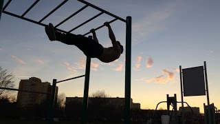 good street workout in Poland