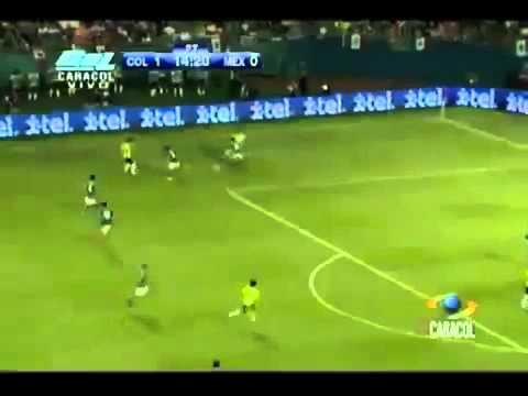 Colombia Vs Mexico - (2-0) Partido Amistoso - 2012