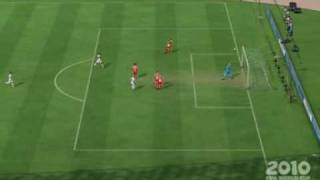 2010 FIFA World Cup - My Virtual Pro Scoopy Chip Goal