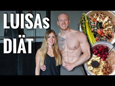 LUISAs DIÄT | Training + Ernährung & häufige Fragen - Schmale Schulter