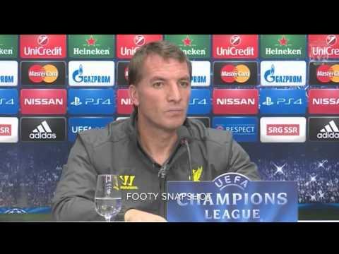 Brendan Rodgers Pre Fc Basel