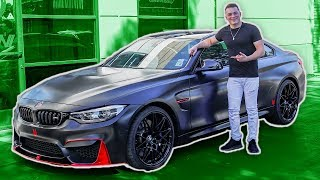 OFFICIAL REVEAL OF MY WRAPPED M4!