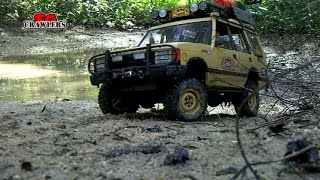 Download Water Mud Trails RC Trucks Scale offroad 4x4 adventures Axial Jeep Land Rover Discovery 3Gp Mp4