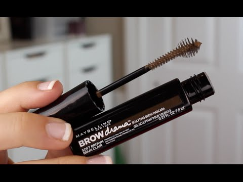 Maybelline Brow Drama Sculpting Brow Mascara Review