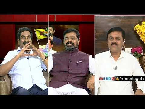 ABN MD Radha Krishna Counter To GVL Over AndhraJyothi | Big Debate | RK Punch Dialogues