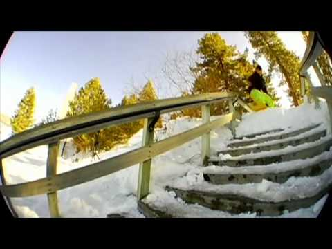 Snowboard Jib Session - Autumn Line