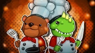 Overcooked Funny Moments w/ My Wife - Rat Robbers & Fireballs!