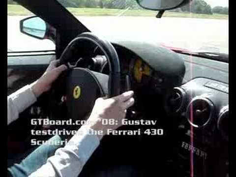 Ferrari 430 Scuderia testdrive by Gustav = GTBoard.com