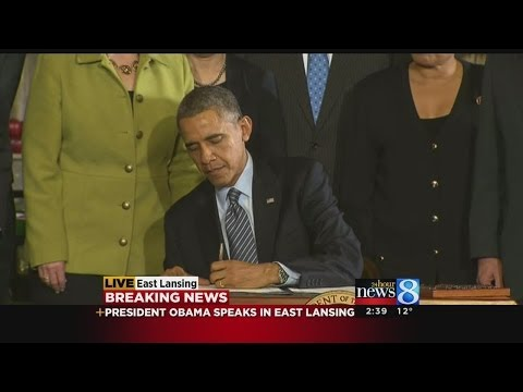 President Obama signs Farm Bill