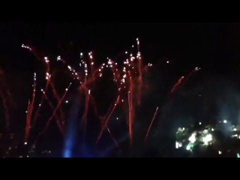 UST Baccalaureate Mass 2013 Pyromusical/Fireworks Display