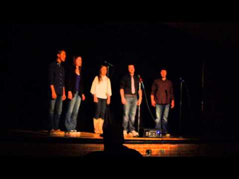 Run to You by Pentatonix - Sevier County High School Concert Choir Variety Show 2014