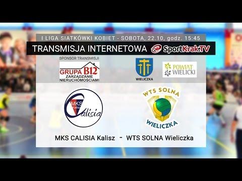 1. Liga Siatkówki Kobiet: MKS Calisia Kalisz - WTS Solna Wieliczka 3:0