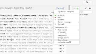 How To Unblock Someone in Gmail Chat List / Google Hangout