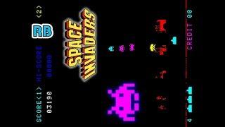 【タブレット用】1978 [60fps] スペースインベーダー / Space Invaders Bug1