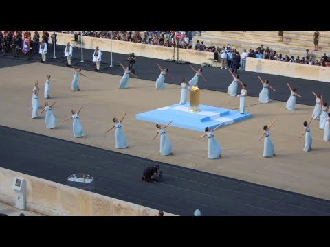 ATHENS, GREECE, Olympic flame at Panathenaic Stadium, OLYMPIC GAMES BRAZIL RIO 2016 - (4)(27.4.2016)