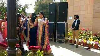 Radha Bagri - Bhat / Myra Function - Biro Ji Aangan Aaya