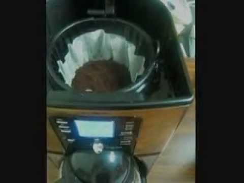 Programmable Mr.Coffee 12 Cup Coffee Maker FTX41CP - YouTube