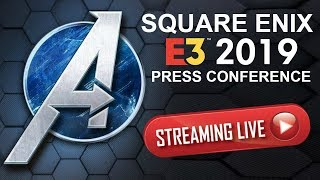 E3 2019 LIVE | Square Enix MARVELS AVENGERS GAME Press Conference  (E3 2019 Stream)
