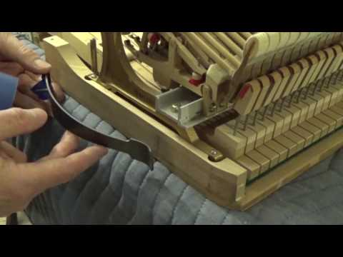 Regulate grand piano – 4 return spring out