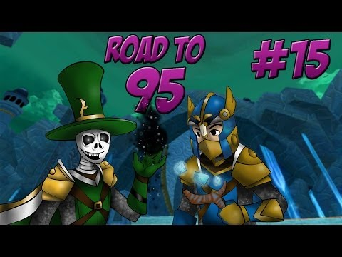 "Wizard101: Road to 95 ""Winter Halo Cave"" w/ Blue - Ep 15"