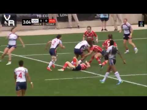 2015 USA Women: Rugby Hits & Highlights #Atlanta7s HD