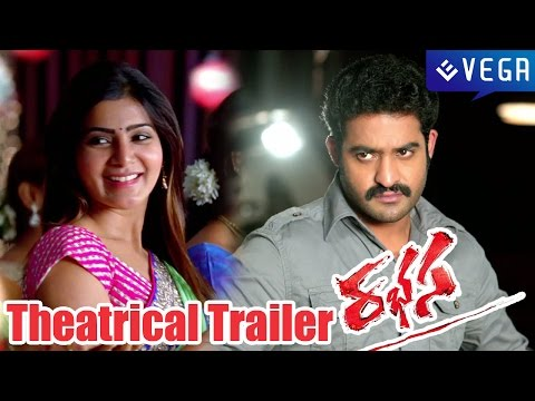 Rabhasa Movie Theatrical Trailer - Jr Ntr, Samantha, Pranitha - Latest Telugu Trailer 2014 video