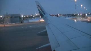 (HD) Westjet 737-7CT Takeoff - Regina Int'l (YQR/CYQR)