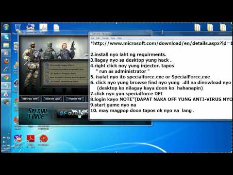 DFI SpecialForce WallHack 2012 Tutorial And Updated Hack