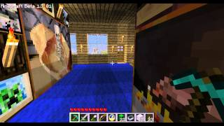 Minecraft 016 - Log Cabin On The Lake