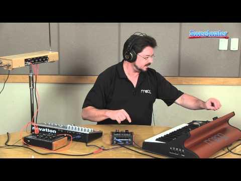 Daniel Fisher Moog MF-104M Analog Delay Pedal Demo - Sweetwater Sound