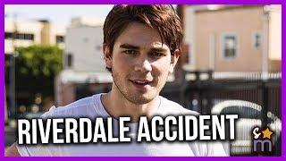 RIVERDALE Star KJ Apa In Car Crash That Brings Up Safety Concerns on Set & Investigation