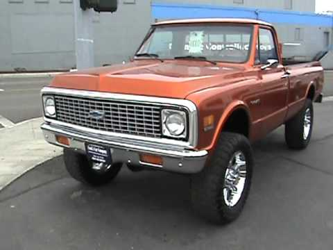 1971 and 1972 Chevrolet C/K Pickups For Sale! - YouTube