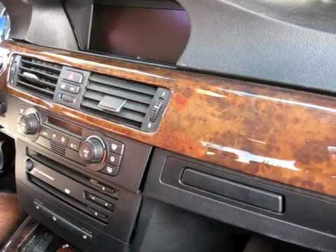 How to Remove Radio / CD / Navigation / CCC unit from 2006 BMW 330 325 for Repair.
