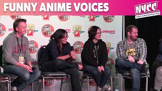 Ian Sinclair Asks the Anime Voice Actors About Funny Voices at Animate Miami 2015