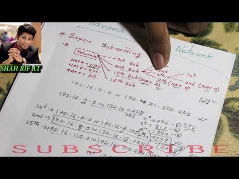 Advance Computer Network (ACN)  Bangla Tutorial | Super Sub-netting |  Special VLSM | Networking