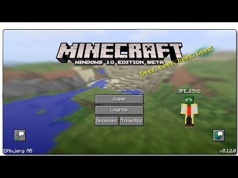 Minecraft Windows 10 Edition - Review Español | MCPE 0.15.0 en PC | Versión MUY limitada