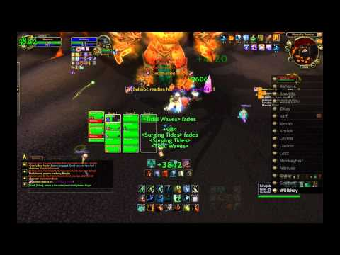 Baleroc the Gatekeeper 10 Man Normal Firelands Guide - FATBOSS