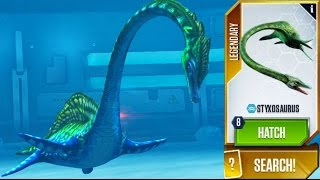 Styxosaurus MAXED - Jurassic World - Aquatic Creature