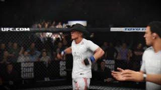 Donald Cerrone vs Dustin Poirier Online Match  EA SPORTS™ UFC® 3