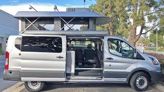 Modular Pop Top Ford Transit Camper Van Walk Through | ModVans CV1
